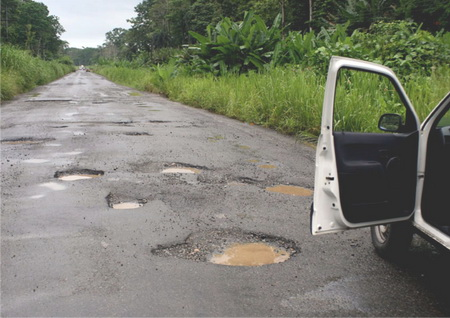 Consequences of road potholes on innocent lives